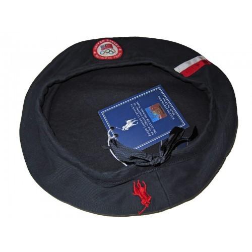 Ralph Lauren Polo 2012 Olympic Navy Blue Beret Official Hat Team USA Cap Medium 886842656182 eb81361425 500x500 1