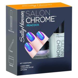 Sally Hansen Salon Chrome Peacock Nail Polish Set