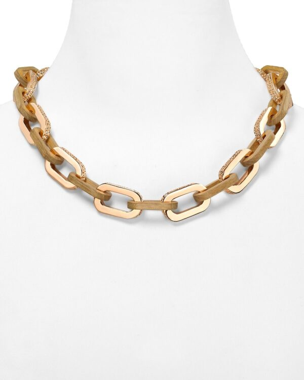 MARC BY MARC JACOBS Zebra Link Necklace Jewelry Accessories Jewelry All Jewelry Bloomingdales
