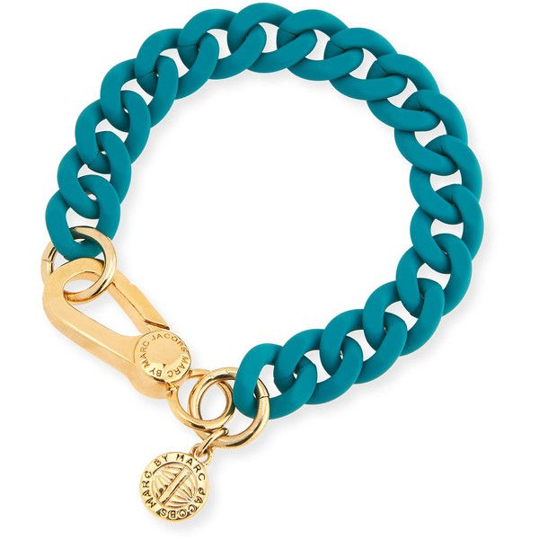 Marc Jacobs Rubber Chain Bracelet