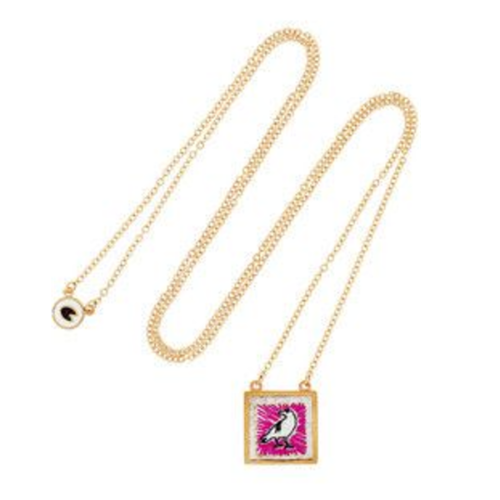 Marc by Marc Jacobs Crow Gold-Toned Necklace